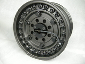 "G T CTIS System for Black Rhino Armory Aluminum 17"" X 9.5"" Wheel"